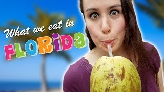 WHAT WE EAT IN FLORIDA *HUNGER ALERT*
