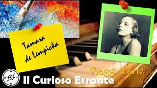 Le opere di Tamara de Lempicka - Musica Jazz al Sax Rilassante (viaggio nell'arte)