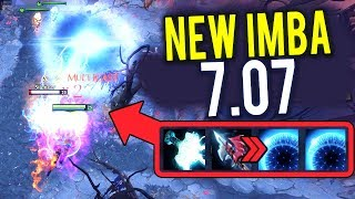 Electric Imba 7.07 AA CARRY NEW CANCER BUILD Mjolnir + Hurricane Pike What A BIGGEST COMEBACK Dota 2