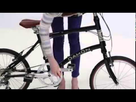 [DAHON] LOCK JAW Folding Technology