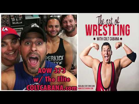 Kenny Omega & Young Bucks Ep 373 | AOW Podcast w/ Colt Cabana