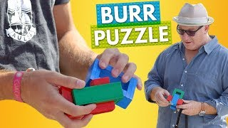 How to Solve a LEGO Burr Puzzle! | Brick X Brick