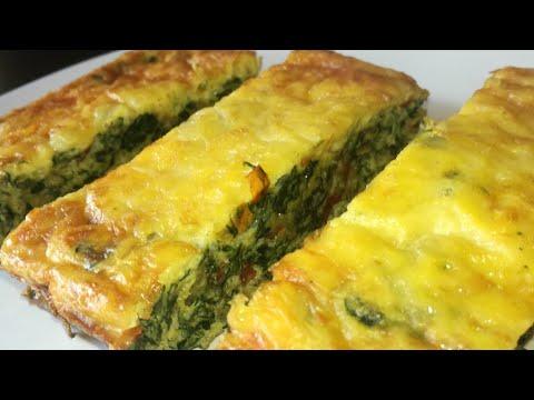 Spinach Egg Casserole Recipe