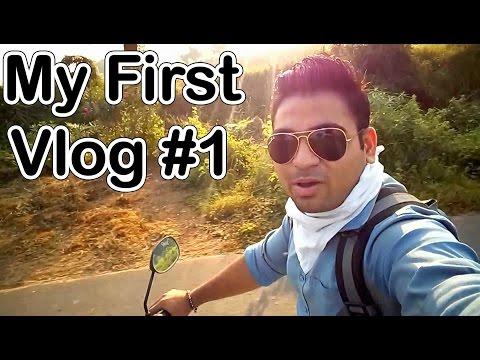 My First Vlog #1, My || CHARUSAT || UNIVERSITY || Where I'm Studying || Hindi
