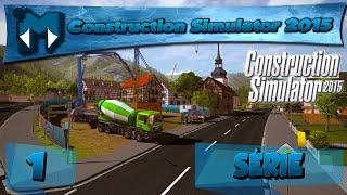 Construction Simulator 2015 Coop - Cuidado com a Cabeça, JOGO FODA!!! [1] [PT-BR] [PC 1080p]
