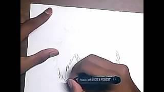 Drawing Mizuki anime Days