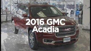 2016 GMC Acadia vs 2015 GMC Acadia in Cedar Rapids IA