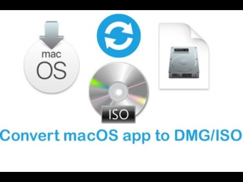 Convert macOS  app to  dmg or  iso bootable installer
