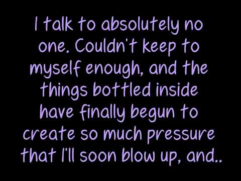 Relient K- Who I Am Hates Who I've Been (Lyrics)