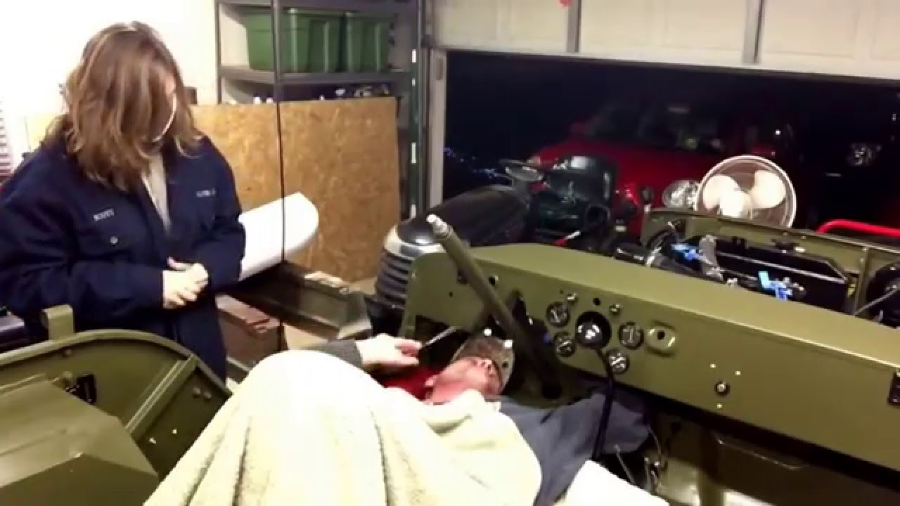 How To Wire A Willys In Comfort Jeep Cj Wire Harness on