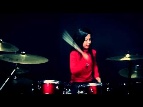 WALI BAND - BAIK BAIK SAYANG - Drum Cover by Nur Amira Syahira