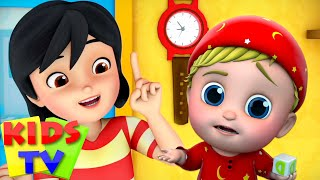 I Don't Want To   Baby Cartoon Song & Nursery Rhymes   Children Learning Videos - Kids Tv