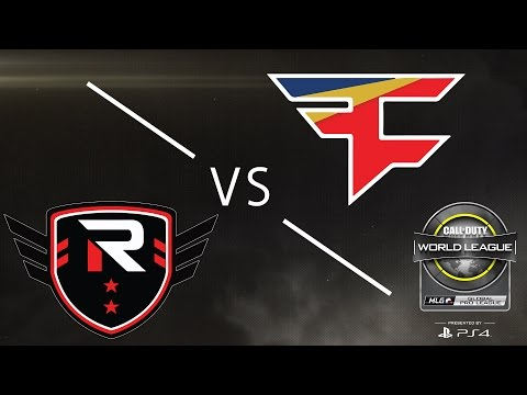 FaZe Clan vs Rise Nation - CWL Global Pro League - Group Blue - Day 3