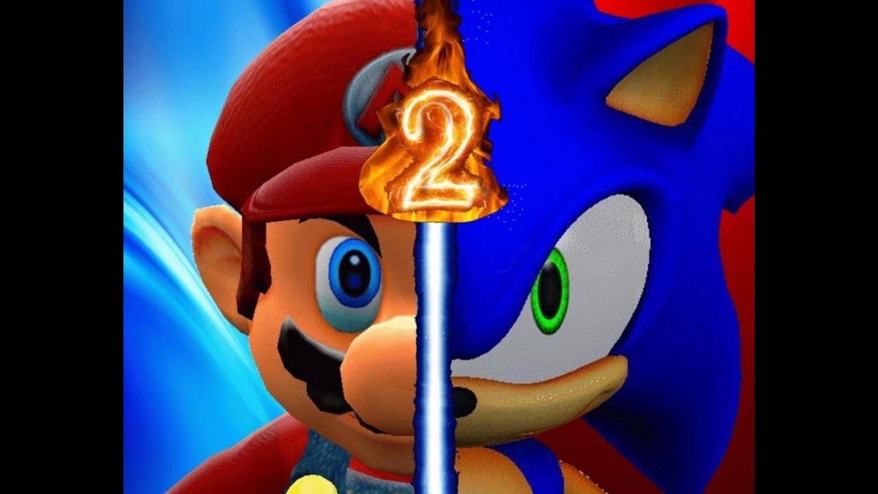 Mario  Sonic 2 Fan Project  YouTube