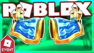 [EVENT] How to get the ATLANTEAN PAULDRONS | Roblox Disaster Island