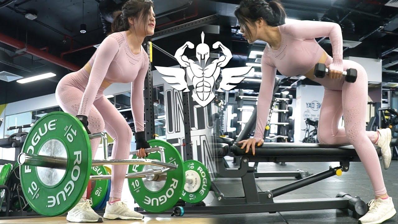 Tập Gym Full Body Dành Cho Nữ Dân Thể Hình