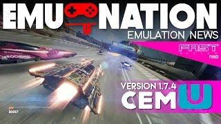 EMU-NATION: Wii-U Emulator Playing FAST Racing NEO! #2