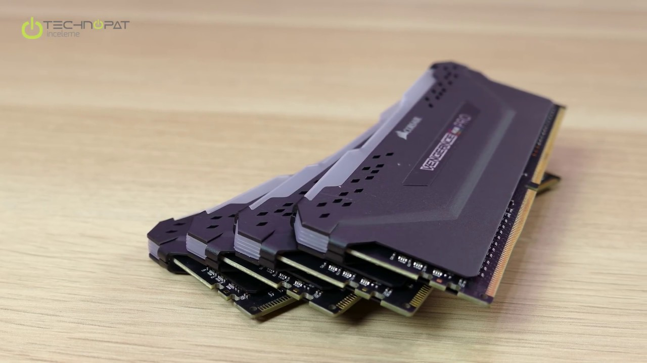 Corsair Vengeance RGB PRO RAM İncelemesi