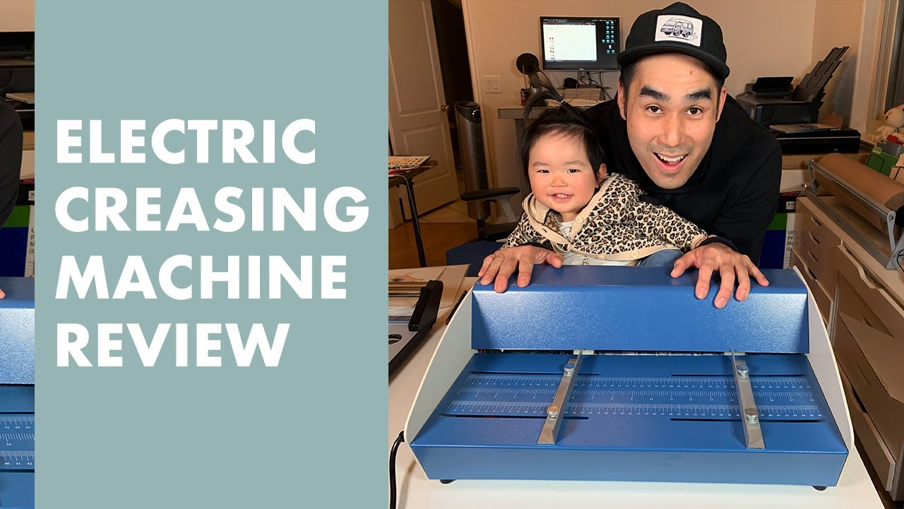 Electric Creaser Scorer Perforator 3 In1 Machine Review
