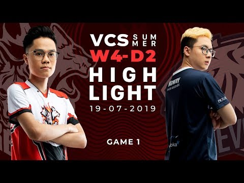 CES vs EVS _HighLights [VCS Mùa Hè 2019][19.07.2019][Ván 1]
