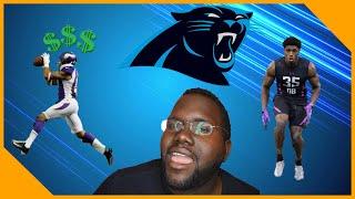 The Carolina Panthers Sign Jarius Wright!!! And Take A Close Look At Chandon Sullivan?!!| LCameraTV