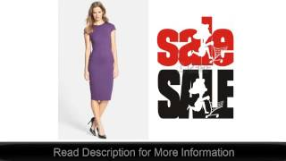 Seamed Pencil Dress by FELICITY & COCO Best Price Online Deal