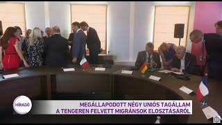 Megállapodott négy uniós tagállam a tengeren felvett migránsok elosztásáról