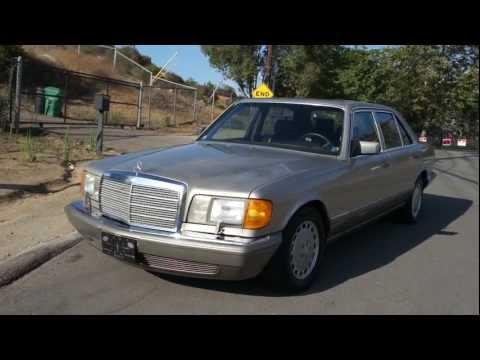 W126 Mercedes Benz 420SEL 105k orig mile S-Class Saloon 560SEL