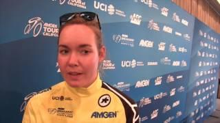 2017 Amgen Women's Race champion - Anna van der Breggen