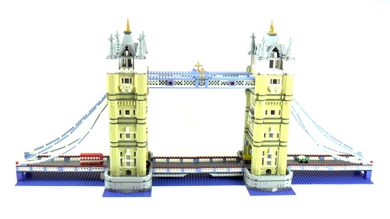 lego exclusives 10214 tower bridge speed build and review. Black Bedroom Furniture Sets. Home Design Ideas