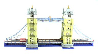 Lego Exclusives 10214 Tower Bridge Speed Build And Review