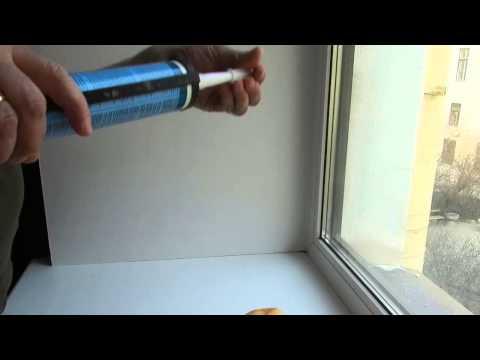 Аккуратный силиконовый шов в отделке и ремонте (жидкий пластик)