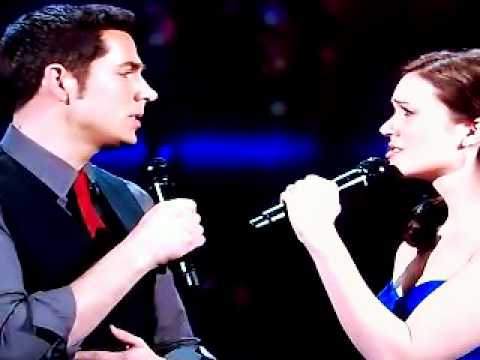 Zachary Levi and Mandy Moore -I See The LightOscars 2011