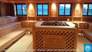 🔹Kristall trimini Kochel am See - Hubertus Sauna und Murmelstube🔹