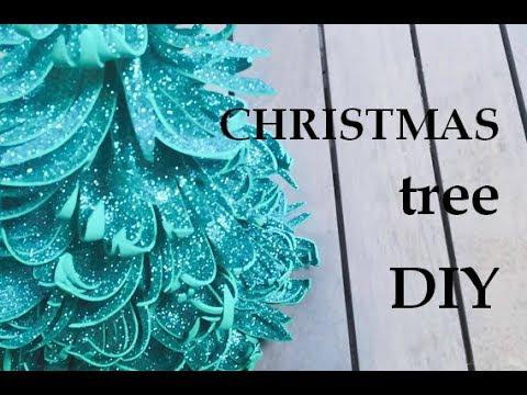 Christmas decor 2019. Glitter foam sheet craft ideas. Foam sheet craft ideas. Сhristmas tree diy