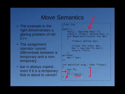 C++11 Miniseries: Value Categories, Move Semantics