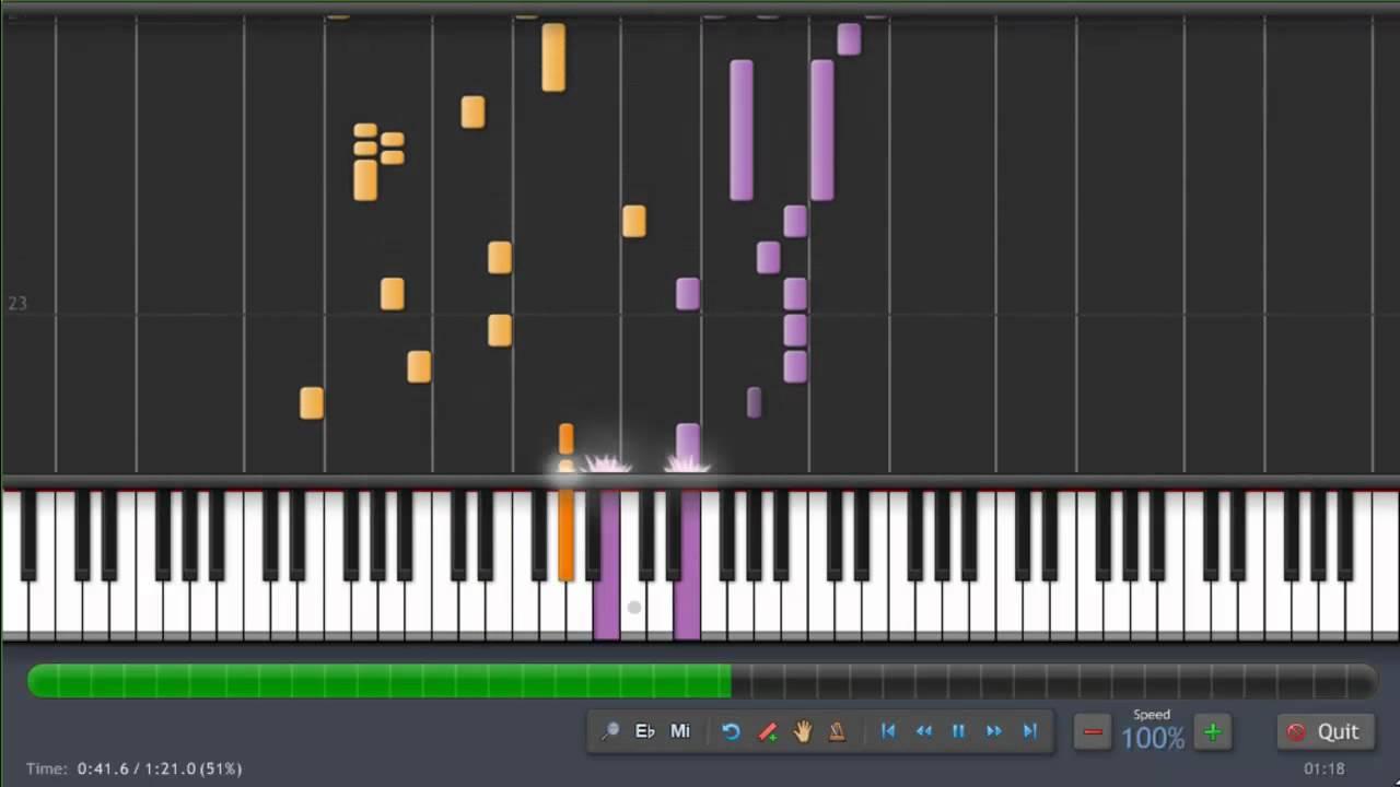 One Piece - Ending - Dear Friends - Piano