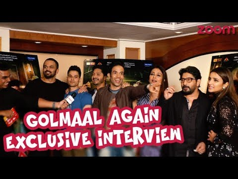 'Golmaal Again' Star Cast & Rohit Shetty Go Crazy After The Film's Success