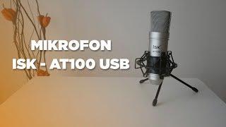 Techniczny Husiek - Mikrofon ISK - AT100 | IDEALNY MIKROFON DLA YOUTUBE ?