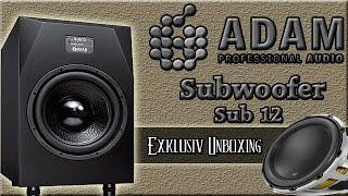 Adam Audio Sub 12 Subwoofer Review ( German )