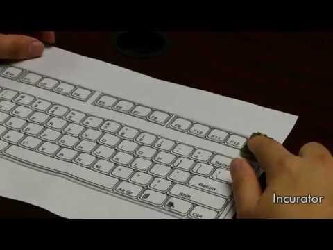 Smart Paper Keyboard