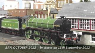 Next month in BRM - a sneak preview of the October 2012 issue of British Railway Modelling!