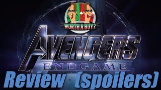 Avengers End Game Movie Review - Contains Spoilers (Big ones)