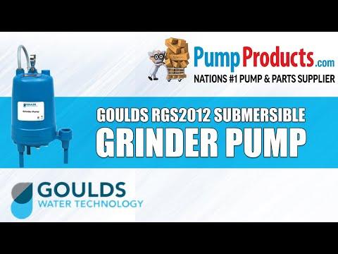 Goulds RGS2012 Series Submersible Grinder Pumps