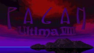 Ultima 8 gameplay (PC Game, 1994)
