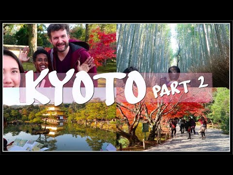 Vlog 12: JAPAN EDITION | more of KYOTO + more FRIENDS! 😁 (part 2) | April White