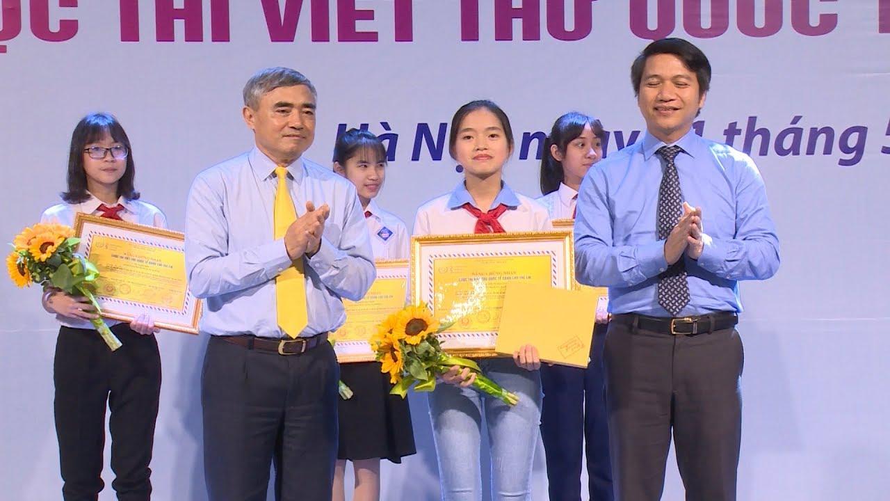 Trao giải Cuộc thi viết thư quốc tế UPU lần thứ 47 năm 2018