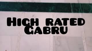 High rated Gabru   female version   dance choreography   Vaishnavi Kesarwani   kada crew pbh