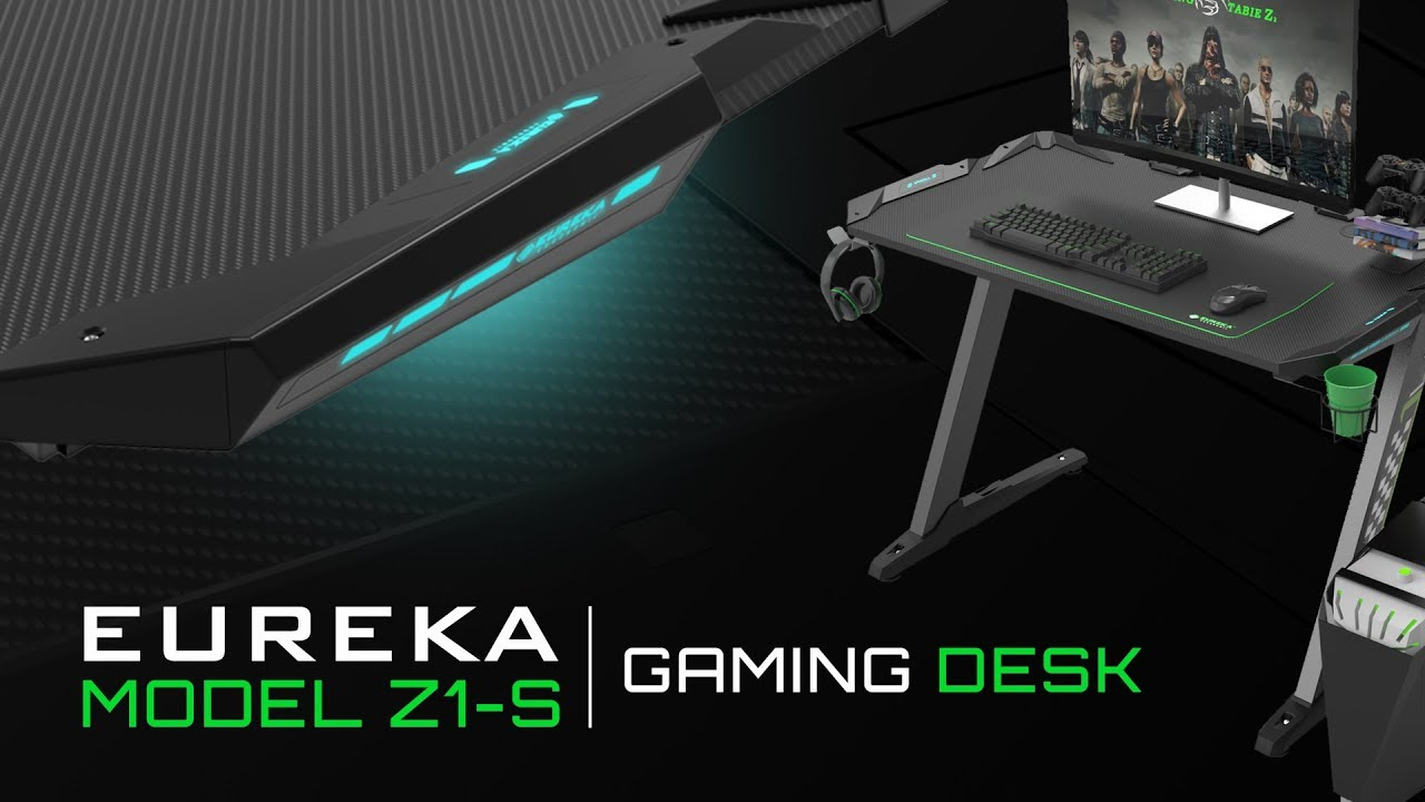 Eureka Ergonomic Z1 S Gaming Desk
