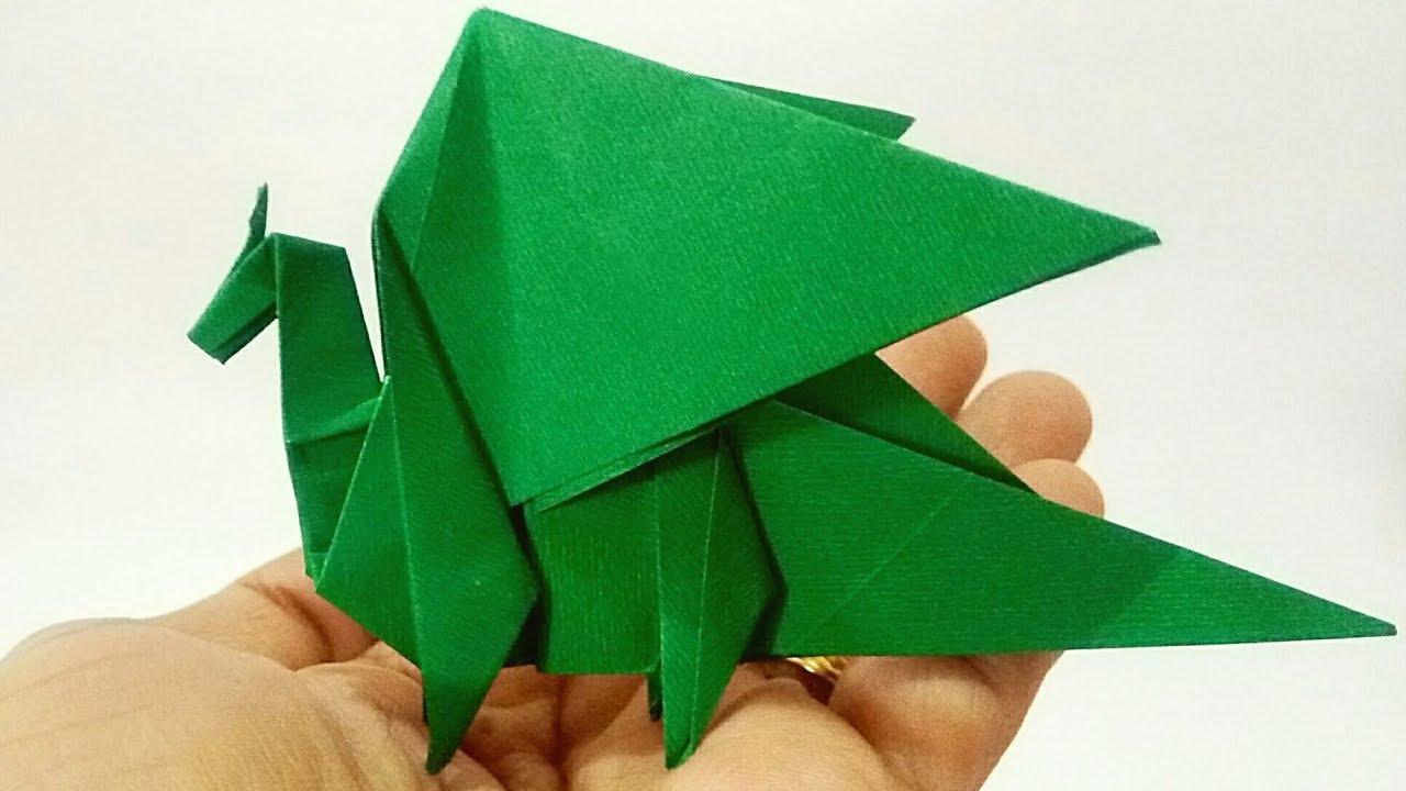 ▷ Origami - How to make a dragon (Gilad Aharoni) - YouTube ... | 720x1280